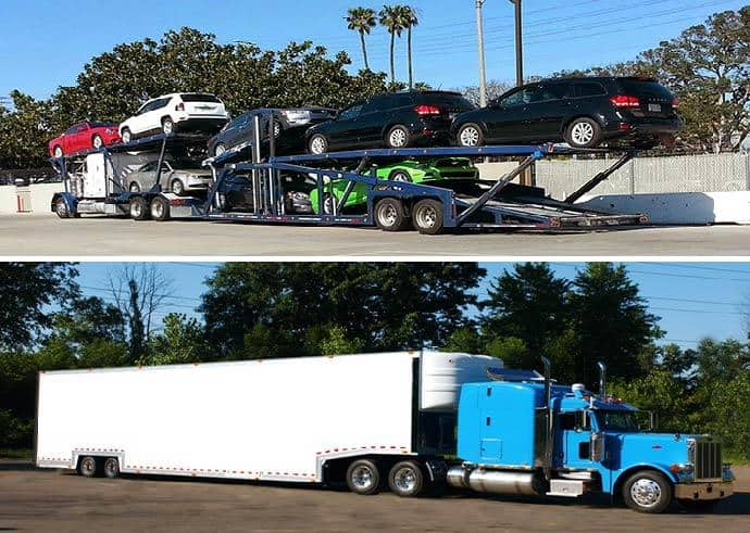 Open Car Carrier Vs Enclosed Car Carrier