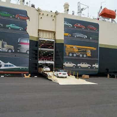 Hawaii Car Shipping Vessel Carrier