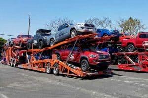 multiple vehicle shipping
