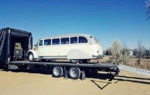 oversized vehicle enclosed