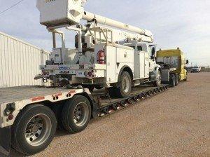large truck transport