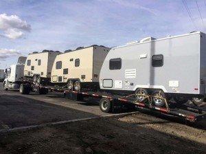 travel trailer hauling