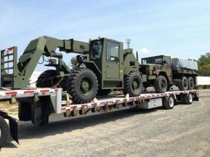 military vehicle transport