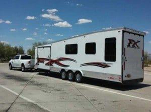 travel trailer transport