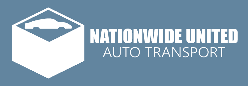 blue nationwide united auto transport logo