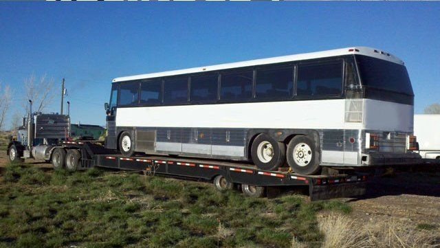 Bus Transporting and Hauling